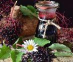 Jablkový džem s plodmi bazy