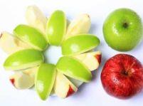 Jablkový šalát so syrom