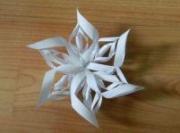 Vianočná hviezda z papiera.