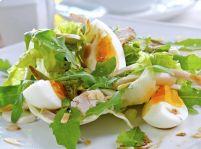 Vajcia plnené šunkou