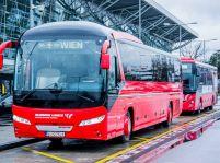 Slovak Lines uviedol nové najmodernejšie autobusy.