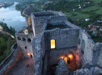 Večerná prehliadka hradu Strečno