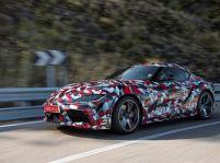 Nová Toyota Supra v aukcii