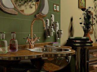 V kúpeľni podľa feng - šuej