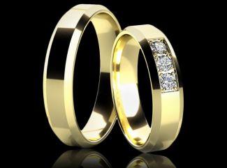 Zlaté prstienky budú úžasnými partnermi na spoločnej ceste životom