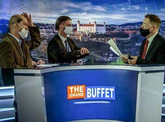 The Grand Buffet & Hafner šokujú novým videom k skladbe Bože, božee.