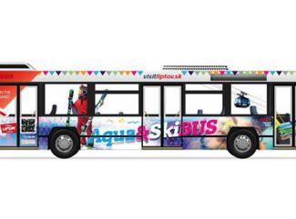Ski & Aqua Bus opäť spojí Liptov