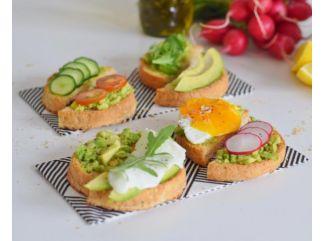 Bohaté Toasty s avokádovou nátierkou