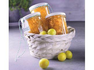 Jablkovo-mirabelkový džem s ciderom