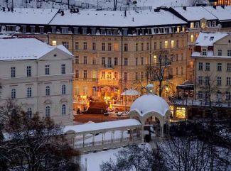 Pri pobyte v Bohemia-lázních v Karlových Varoch si užívajte