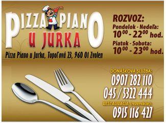 Pizza Piano U Jurka Zvolen