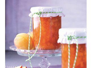 Marhuľovo-nektárinkový džem so sektom