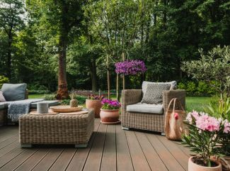 Vytvorte si idylické záhradné sedenie pre chvíle pohody
