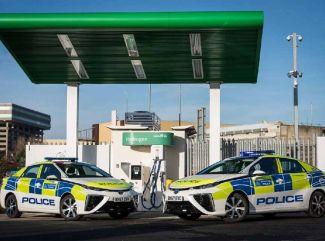 Londýnska polícia stavila na vodík