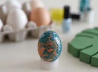 Vyrobte si mramorové vajíčka