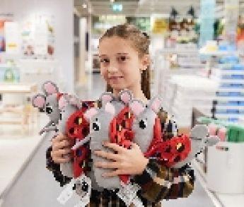 IKEA vyrobila hračku podľa slovenskej malej dizajnérky Majky