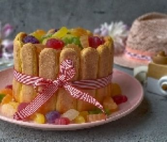 Nepečená tvarohová torta s ovocím a Tropifrutti
