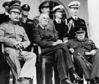 Čo mali spoločné Roosevelt, Churchill a Stalin?