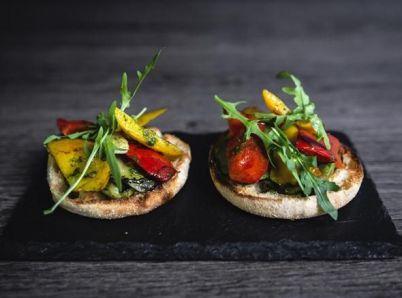 Grilovaná zelenina s pestom