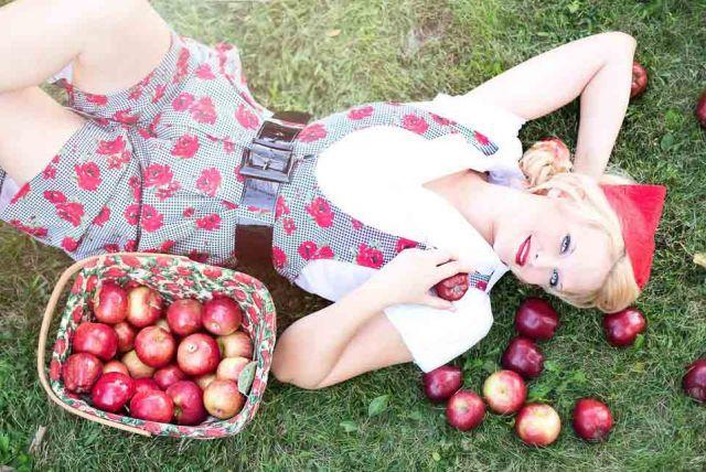 Jesenné poklady: jablká a hrušky