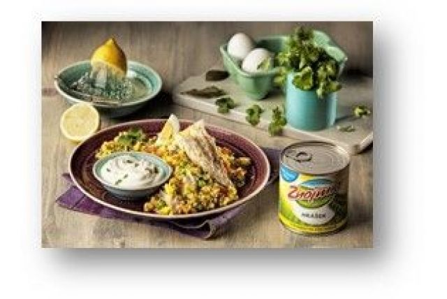 INDIA: Kedgeree – indická koreninová ryža s rybou a zeleninou