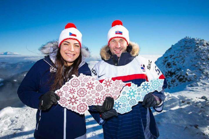 Zima spojila Čechov a Slovákov