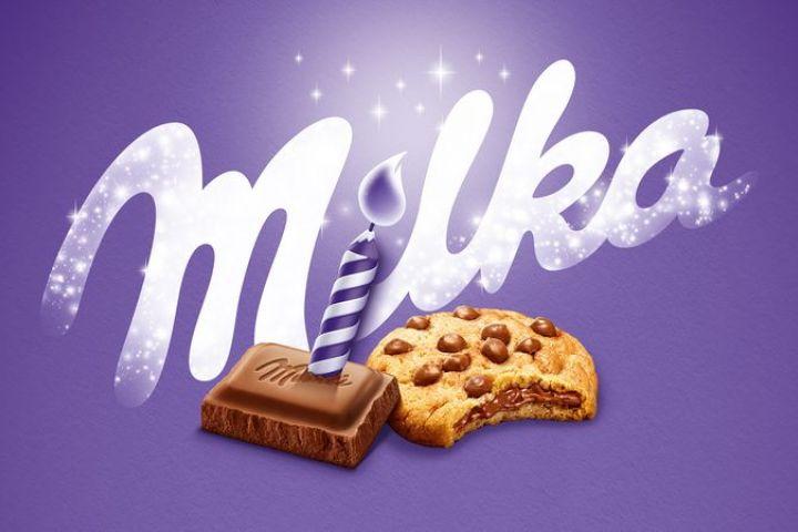 Milka oslavuje 120. narodeniny a rozdáva darčeky