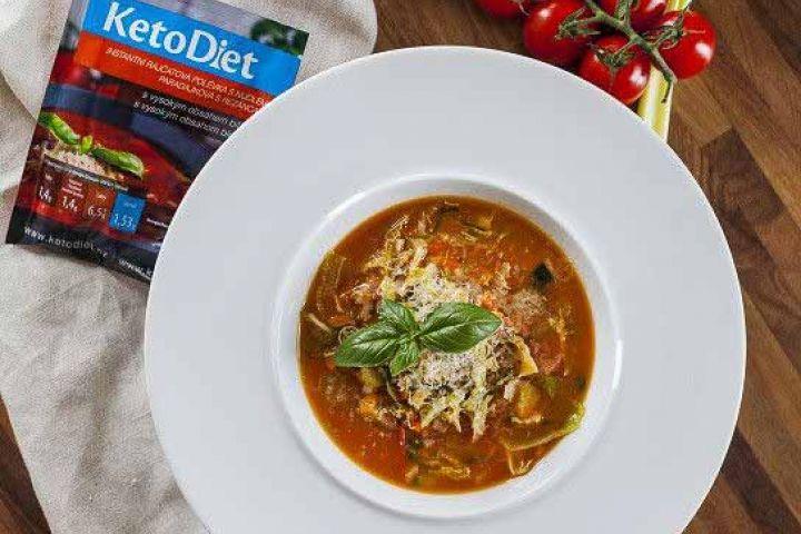 Proteínová polievka minestrone