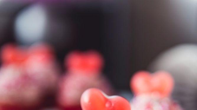 Štýlové valentínske cupcakes