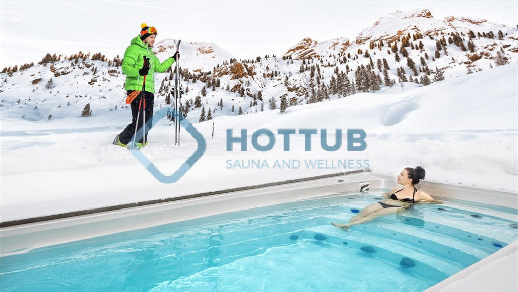 Predĺžte si leto s celoročným bazénom Swim Spa a vírivkou Jacuzzi