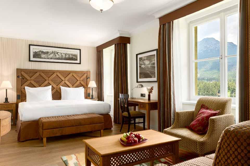 Najlepším historickým hotelom v Európe je podľa Haute Grandeur Global Excellence Awards Grand Hotel Kempinski