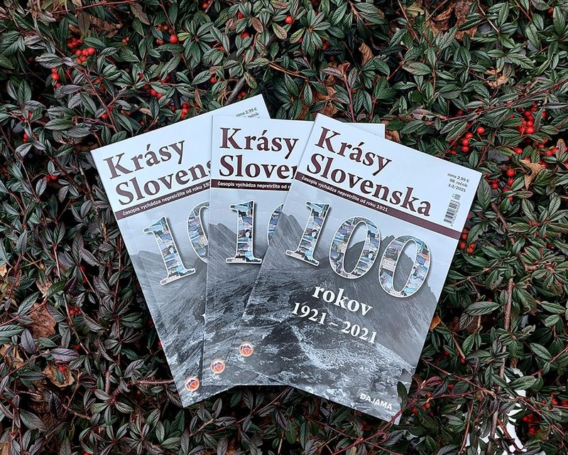 Časopis Krásy Slovenska má 100 rokov!